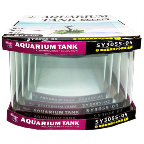 SY-305S Circular Arc Glass Tank 5in1